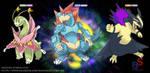 fake megaevolution- starter Johto by badafra
