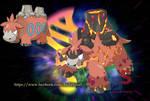 Fake mega evo - Mega Camerupt by badafra