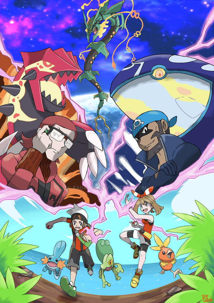 Pokemon Omega Ruby And Alpha Saphire By Badafra On Deviantart