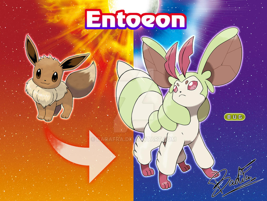 Tried my hand at creating a bug type eevee evolution ...