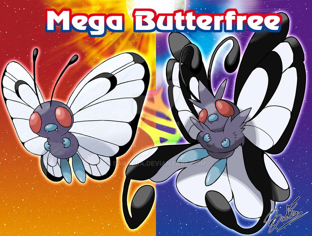 Mega Butterfree by badafra
