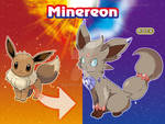 eevee Rock evolution - Minereon