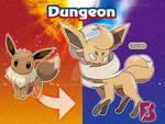 eevee Ground evolution - Dungeon