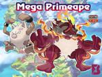fakemon -Mega Primeape by badafra