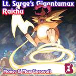 Gigantamax Raichu