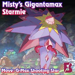 Gigantamax Starmie by badafra