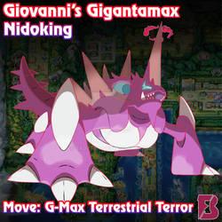 Gigantamax Nidoking by badafra