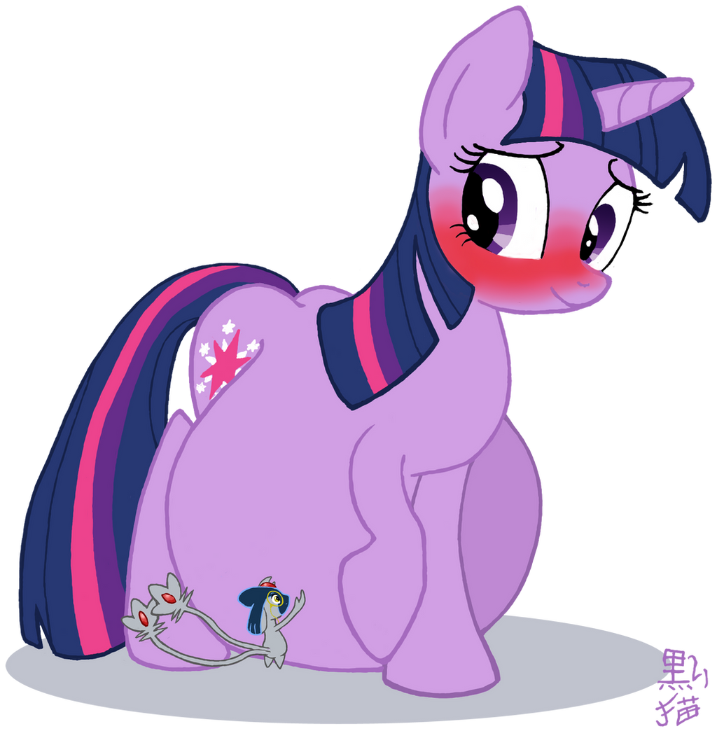 Cupix And Pregnant Twilight Commission By Dunkelkatze On
