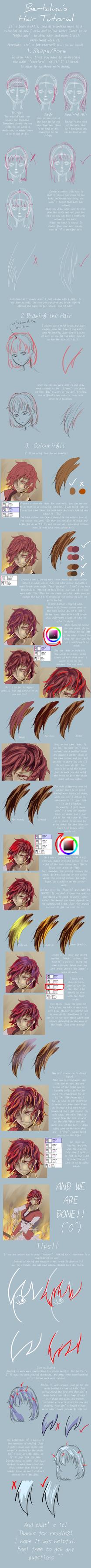 Hair Tutorial by bertalina