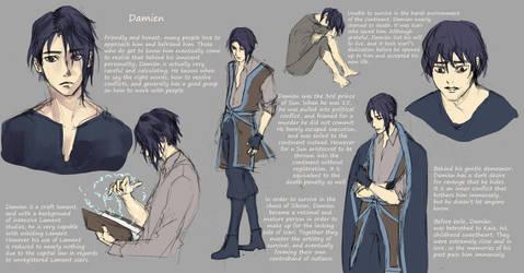 Damien - Character Concept by bertalina