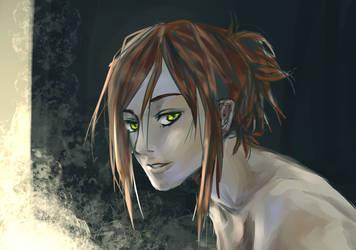 Haru Portrait (Tablet Test) by bertalina