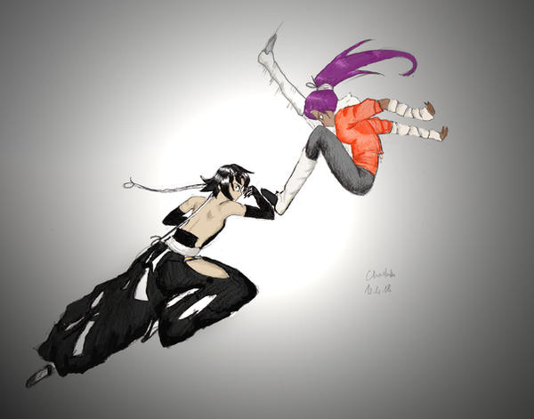 What is the relationship between Yoruichi and Soifon?