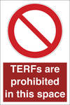 ISO 7010 - TERFs Prohibited in this space