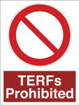 ISO 3864 - TERFs Prohibited