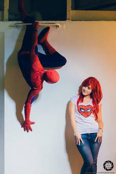 Spiderman and Mary Jane