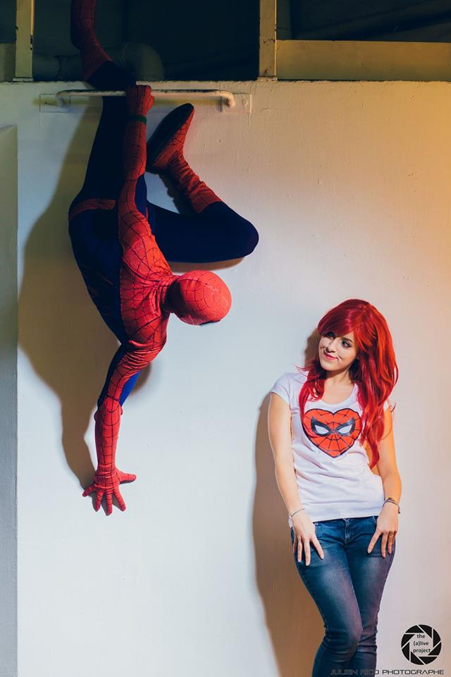 Spiderman and Mary Jane by Lily-on-the-moon on DeviantArt