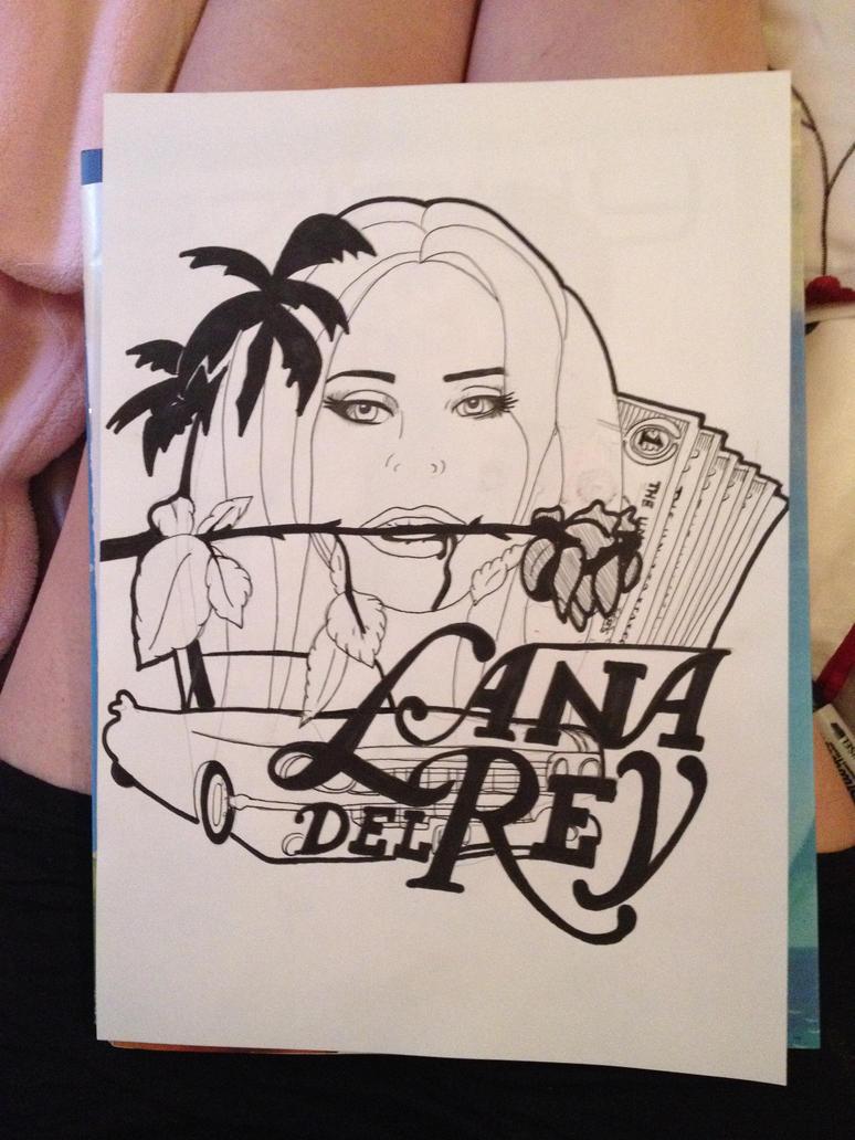 Lana Del Rey by zimbauka