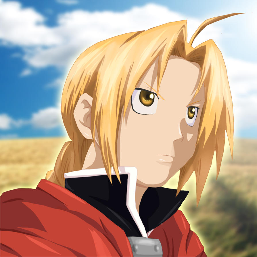 Edward Elric by gone-phishing