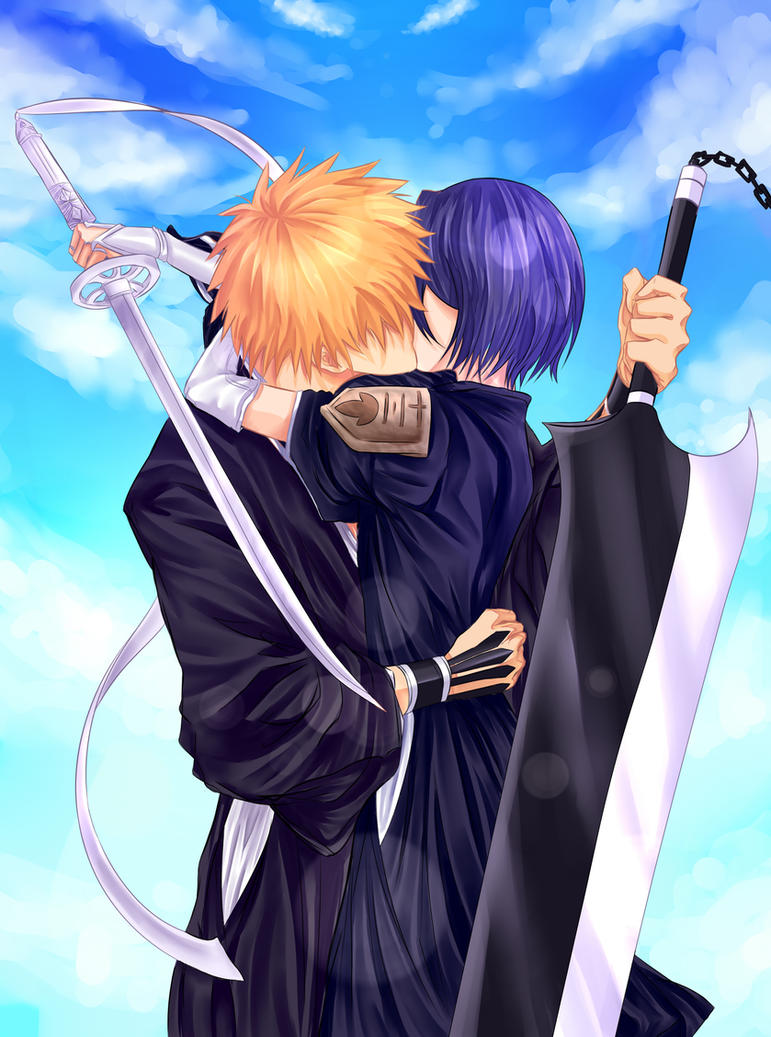 ichigo and rukia kiss - photo #1