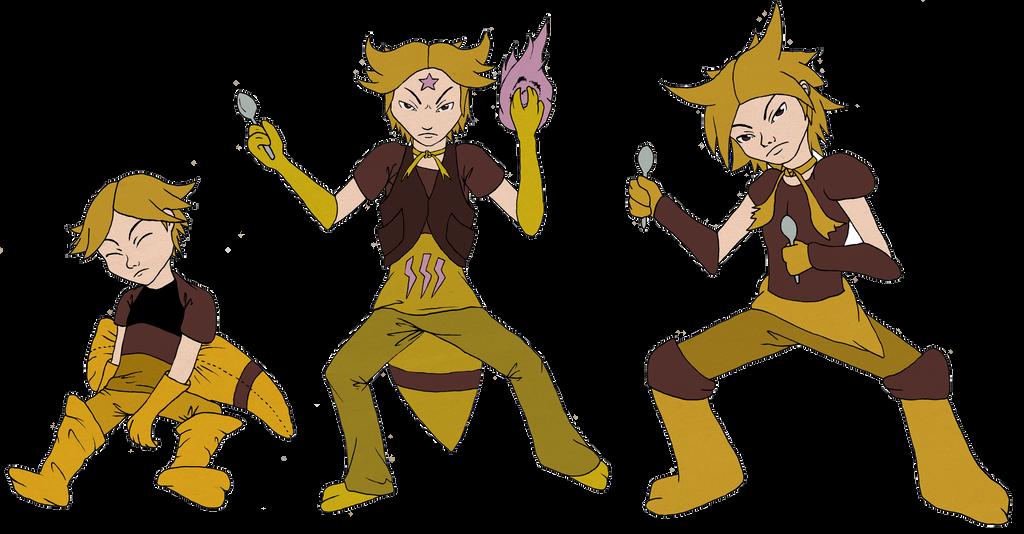 Gijinka Pokemon Kadabra Images