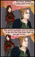Dragon Age 2 SPOILERS by RoochArffer