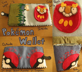 Pokemon Wallet by RoochArffer