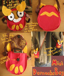 Darumaka Mini-Bag by RoochArffer