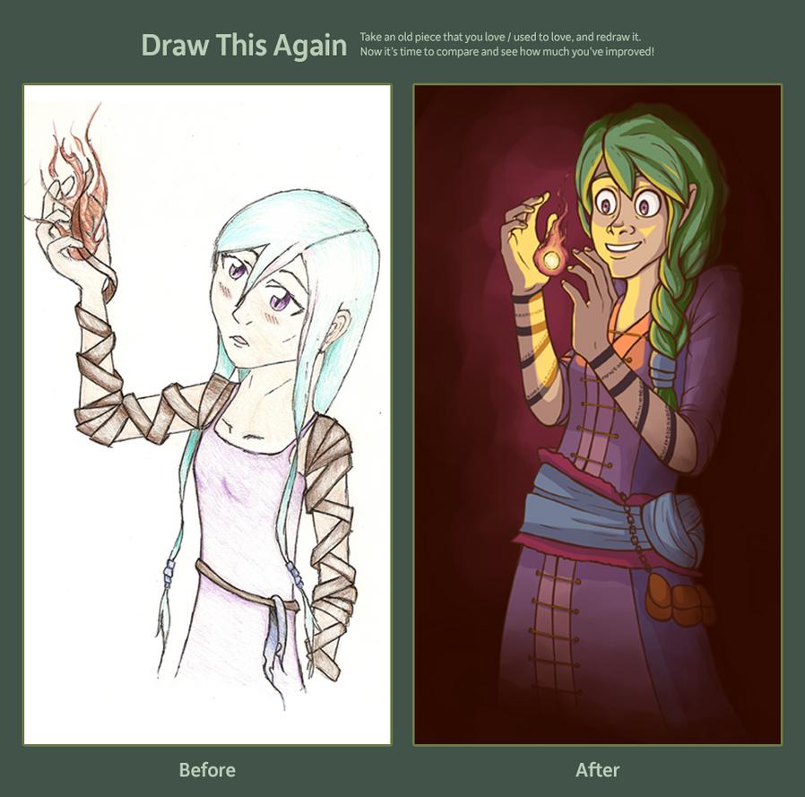 Draw This Again by RoochArffer