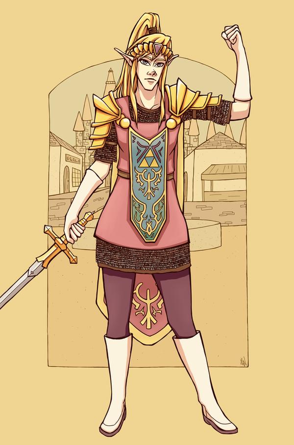 General Zelda by RoochArffer