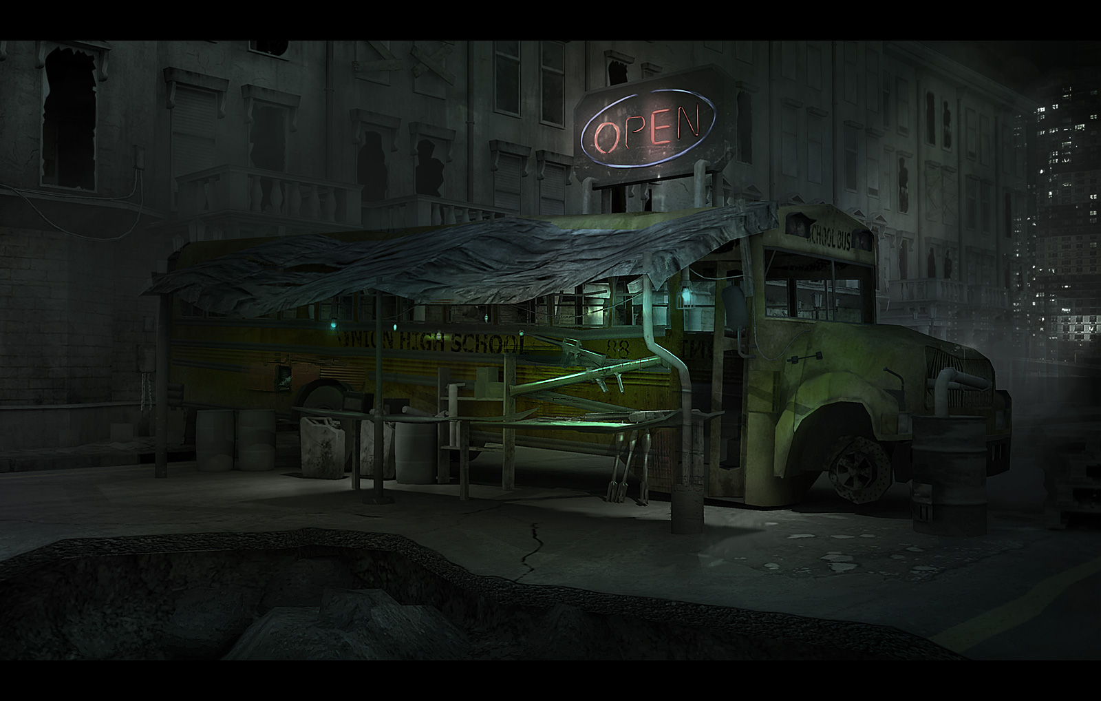 Apocalyptic Shop by Jiwer