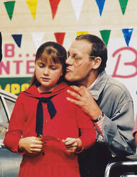 Violet Beauregarde ( 1971 On Set Photo ) A