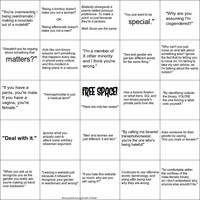 Binarism Bingo Card