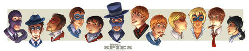 TF2 RP: Meet the Spies by ZygomaticProcess