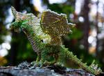 Green bead dragon