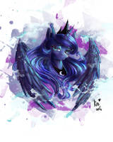 'Tis another Luna. by KarmaMoonshadow