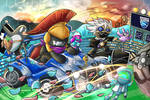 Monstercat x Rocket League