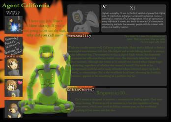 Agent California by KitaNeeko