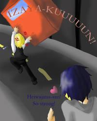 Off To Kill An Izaya by KitaNeeko