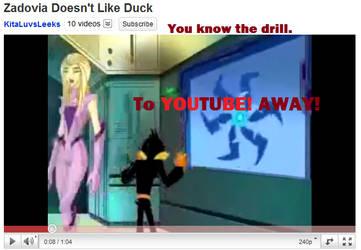Zadovia Doesn't Like Duck by KitaNeeko