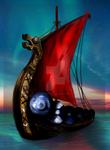 Going a Viking! by KRDigitalArt