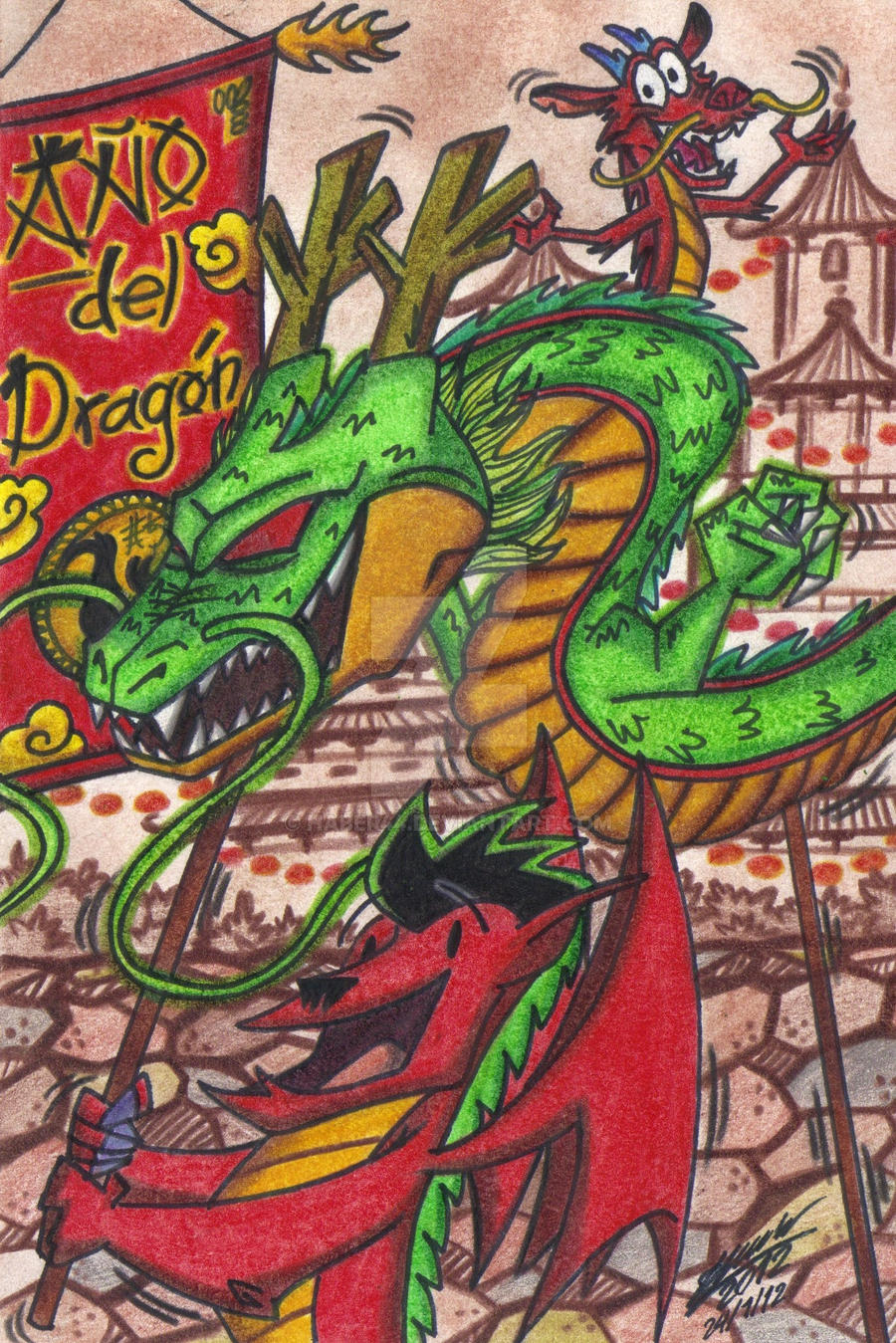 Chinese New Year - Year of the Dragon 2012 by HaBer44 on ...