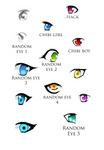 Basic Anime Eyes