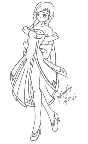 Queen Of Diamonds By Kingdom-anime On DeviantArt