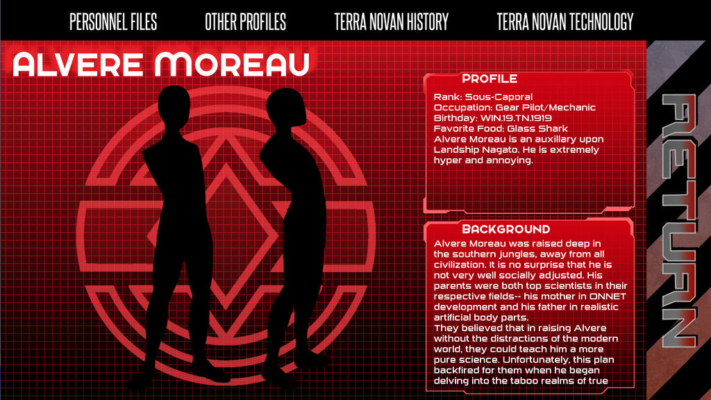 Heavy Gear: Personnel File by noeinan on DeviantArt