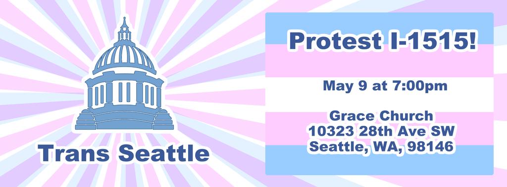 Protest Washington Initiative I-1515 in Seattle by Daikiraikimi