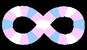 Autism Symbol Segmented Trans Colors