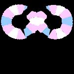 Autism Trans Symbol Segmented
