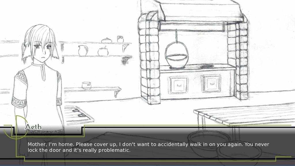 Apothecary Game: Textbox by noeinan