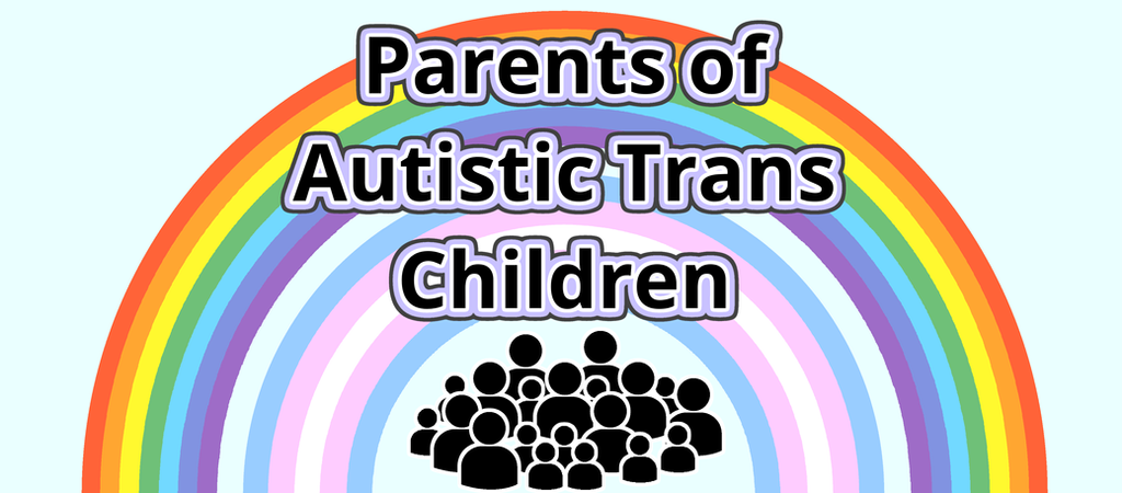 Parents of Autistic Trans Children Banner by noeinan