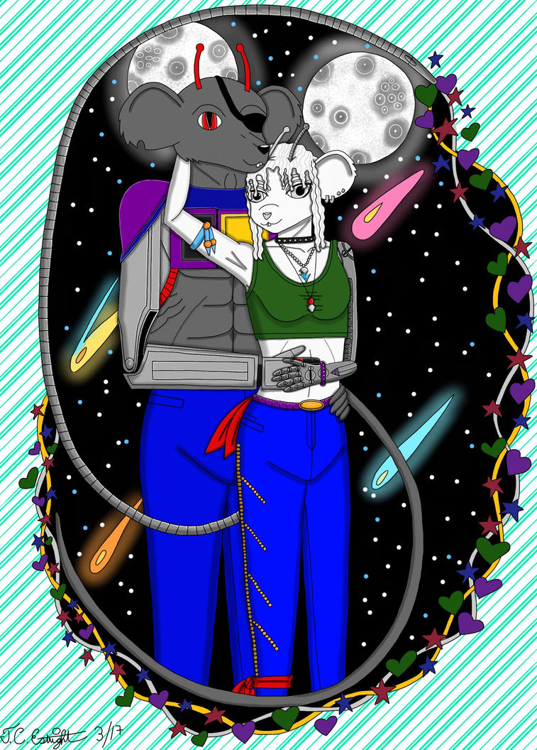 To the moon and stars by SterlingSilver46